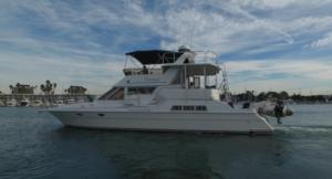 Used President Flybridge Boat For Sale