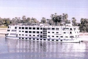 Used Custom Floating Hotel / River Boat Cruise Ship Boat For Sale