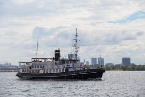 Used Admiral 100 Steamship Trawler Boat For Sale
