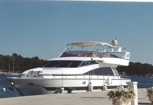 Used Elegance 70 Motor Yacht Flybridge Boat For Sale