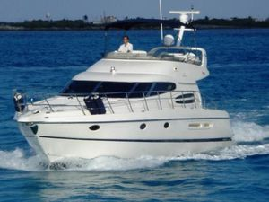 Used Cranchi Atlantique 48 Flybridge Boat For Sale