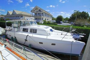 Used Endeavour 44 TRAWLER CAT Power Catamaran Boat For Sale