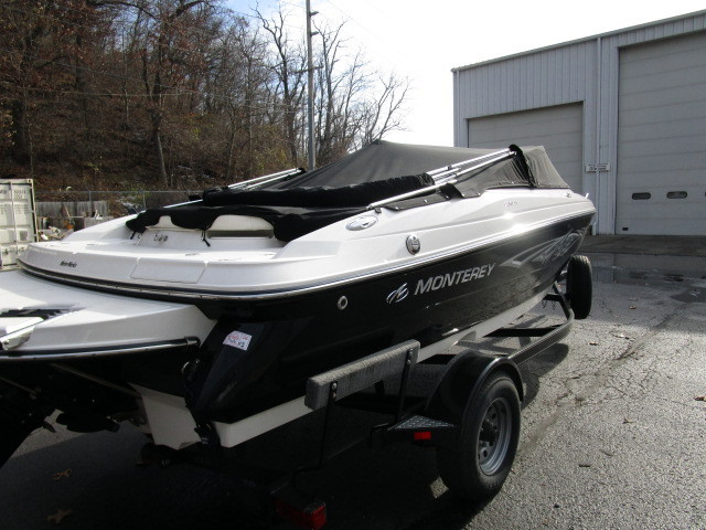 2011 used monterey 204 fs ski and fish boat for sale for Fish and ski boats for sale