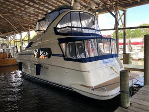 Used Silverton 410 Sport Bridge Flybridge Boat For Sale
