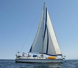 Used Tayana Cutter Rig Center Cockpit Cruiser Sailboat For Sale