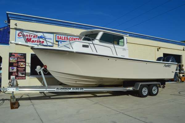 New Parker Boats 2820 XLD Sport Cabin Pilothouse Boat For Sale