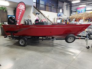 New Lund 1650 Angler SS Freshwater Fishing Boat For Sale