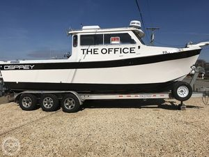 Used Osprey 26 Long Cabin Pilothouse Boat For Sale