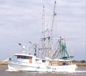 Used Shrimper Shrimp Trawler Commercial Boat For Sale