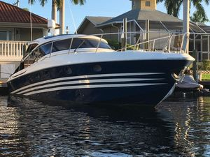 Used Baia 48 C12 CAT FULL HARD TOP Express Cruiser Boat For Sale