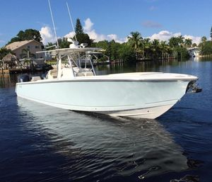 Used Jupiter 38 TRIPLE Center Console Fishing Boat For Sale