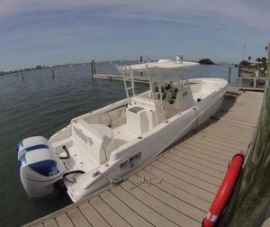 Used Deep Impact Open Twin Seven Marine 557's Center Console Fishing Boat For Sale