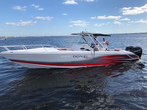 Used Donzi 35 ZF Cuddy Saltwater Fishing Boat For Sale