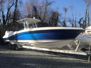 Used Deep Impact 36 OPEN with forward head Center Console Fishing Boat For Sale
