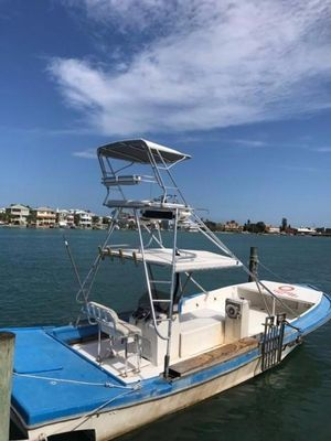 Used Custom Stone Crab Lobster Trap Puller Commercial Boat For Sale