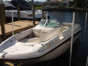 Used Godfrey Hurricane 26 SUNDECK TWIN 150 4 STROKE YAMAHAS Bowrider Boat For Sale