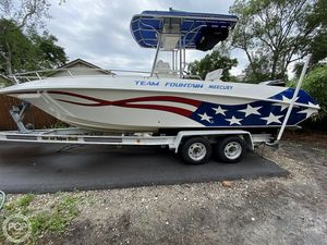 Used Fountain 23 FX Center Console Fishing Boat For Sale