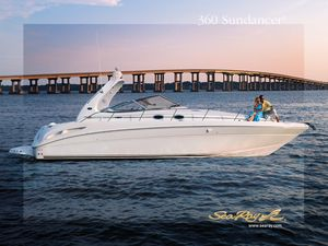 Used Sea Ray 360 Sundancer Express Cruiser Boat For Sale