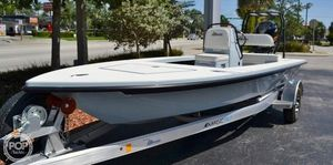 Used Maverick Mirage 18 HPX-V Flats Fishing Boat For Sale
