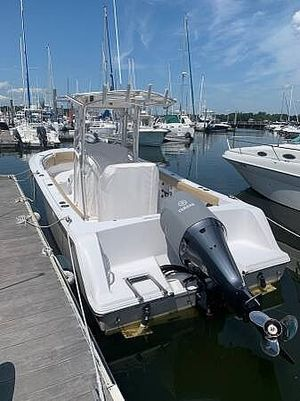 Used Sportsman Heritage 231 Center Console Fishing Boat For Sale