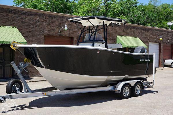 Used Sea Born SX239 Center Console Fishing Boat For Sale