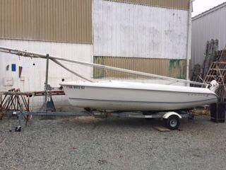 Used Hunter 1700 Daysailer Sailboat For Sale