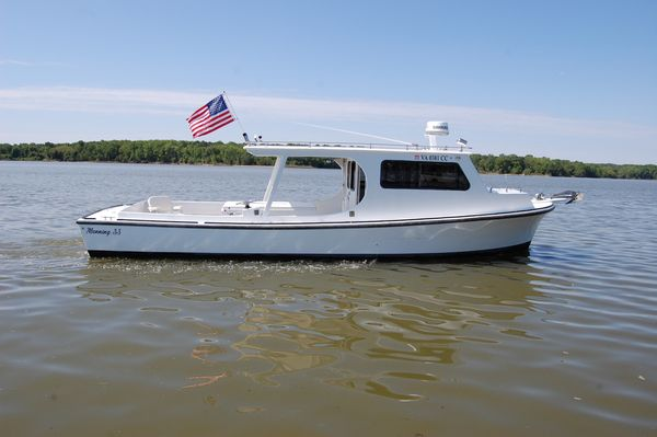 Used Chesapeake 33' Manning Deadrise Pilothouse Boat For Sale