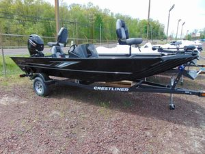 New Crestliner 1700 Ridge Bass Boat For Sale