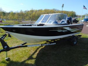 New Crestliner 1650 Super Hawk Saltwater Fishing Boat For Sale