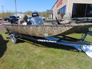 New Crestliner 1700 Storm Bass Boat For Sale