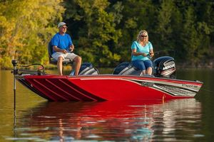 New Lowe Stinger 188 Dual Console Bass Boat For Sale