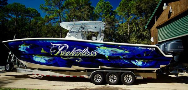 Used Freeman 37 VH Center Console Fishing Boat For Sale