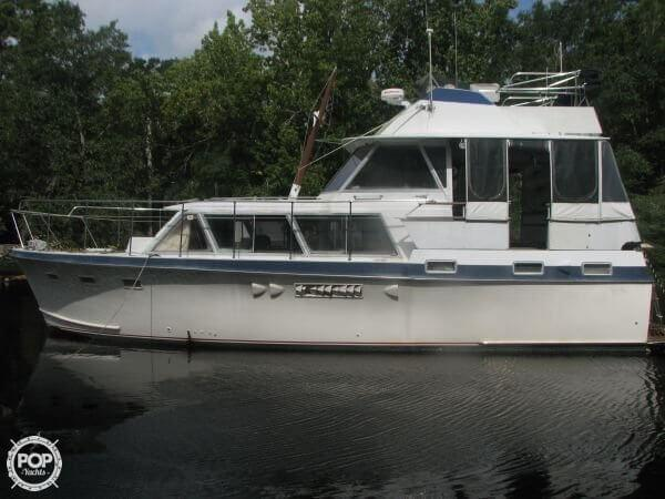 Used Hatteras 41 DCMY Diesel Cruiser Boat For Sale