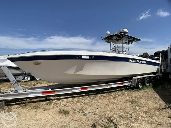 Used Wellcraft Scarab Sport 30 Center Console Fishing Boat For Sale