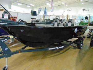 New Crestliner 1600 Vision Freshwater Fishing Boat For Sale