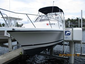 Used Shamrock 260 Express Saltwater Fishing Boat For Sale