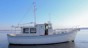 Used Willard 40 Pilothouse Trawler Boat For Sale