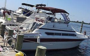 Used Carver 3467 Santego Express Cruiser Boat For Sale