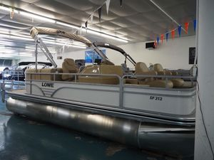 New Lowe SF212 Walk Thru Pontoon Boat For Sale