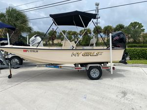 Used Mckee Craft 16 CC Waypoint Center Console Fishing Boat For Sale