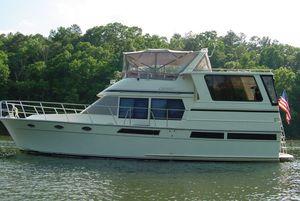 Used Trans World Boat Builders Genesis Flybridge Boat For Sale