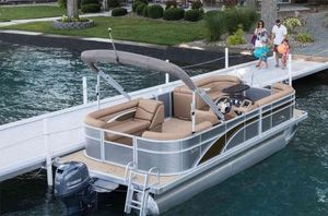 New Bennington 168 SF - 8' Narrow Beam Pontoon Boat For Sale