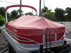 Used Sun Tracker Party Barge 20dlx Pontoon Boat For Sale