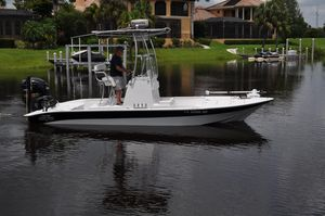 Used Shallow Sport 24 Modified V Saltwater Fishing Boat For Sale
