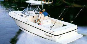 Used Shamrock 246 Walkaround Freshwater Fishing Boat For Sale