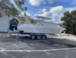 Used Fountain 31 Cuddy Saltwater Fishing Boat For Sale