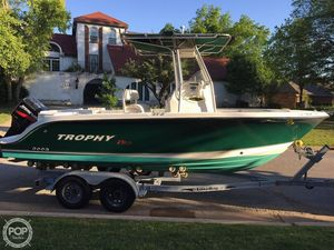 Used Trophy Pro 2103 Center Console Fishing Boat For Sale