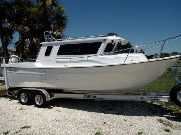 New Seasport Explorer Pilothouse Boat For Sale