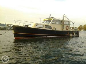 Used Gulfstream Boats 40 Trawler Boat For Sale
