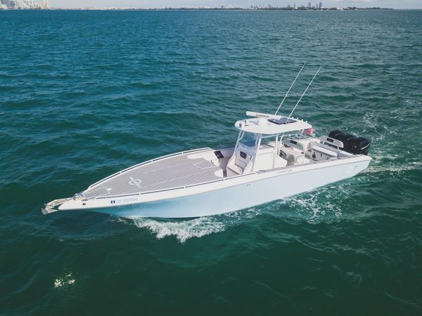 Used Fountain 38 CC Tournament Edition Saltwater Fishing Boat For Sale